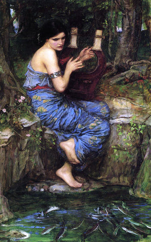 John William Waterhouse The Charmer - Hand Painted Oil Painting