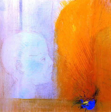 Odilon Redon The Child - Hand Painted Oil Painting