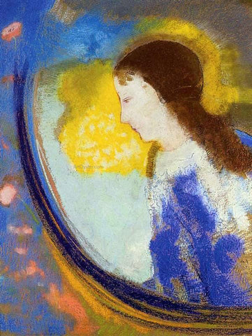 Odilon Redon The Child in a Sphere of Light - Hand Painted Oil Painting