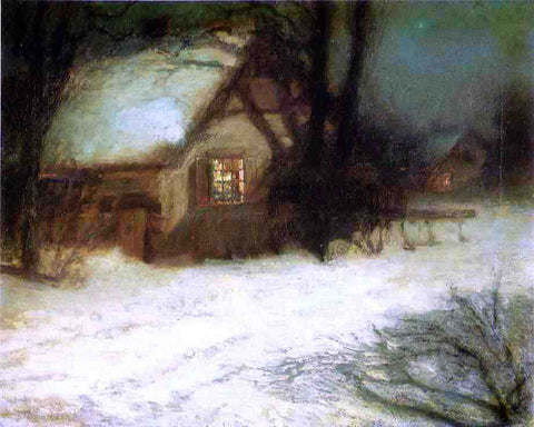 John Twachtman The Christmas Tree - Hand Painted Oil Painting