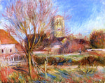 Pierre Auguste Renoir The Church at Essoyes - Hand Painted Oil Painting