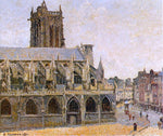 Camille Pissarro The Church of Saint-Jacques, Dieppe - Hand Painted Oil Painting