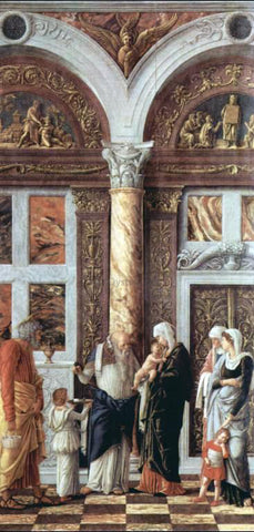 Andrea Mantegna The Circumsicion of Jesus - Hand Painted Oil Painting
