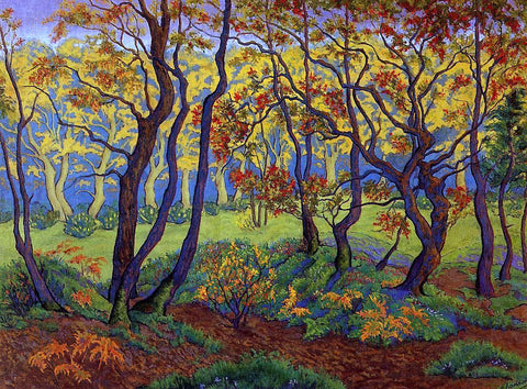 Paul Ranson The Clearing (also known as Edge of the Wood) - Hand Painted Oil Painting