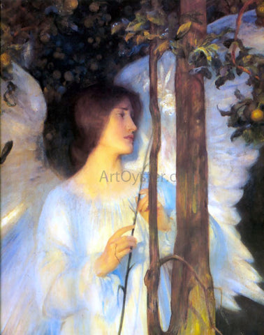 Arthur Hacker The Cloister or the World? [detail] - Hand Painted Oil Painting
