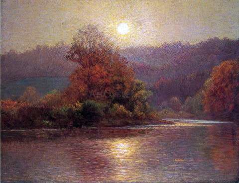 John Ottis Adams The Closing of an Autumn Day - Hand Painted Oil Painting