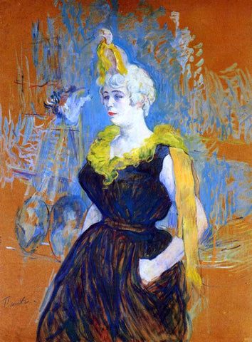 Henri De Toulouse-Lautrec The Clown Cha-U-Kao - Hand Painted Oil Painting