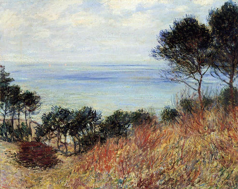 Claude Oscar Monet The Coast of Varengeville - Hand Painted Oil Painting
