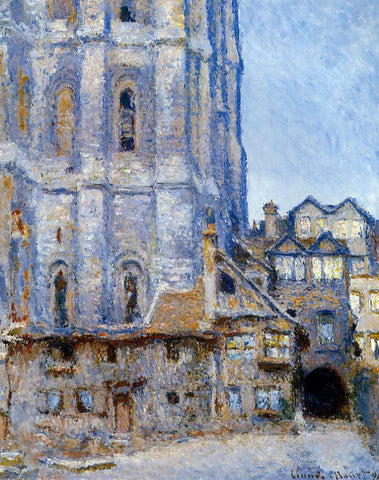 Claude Oscar Monet The Cour d'Albane - Hand Painted Oil Painting