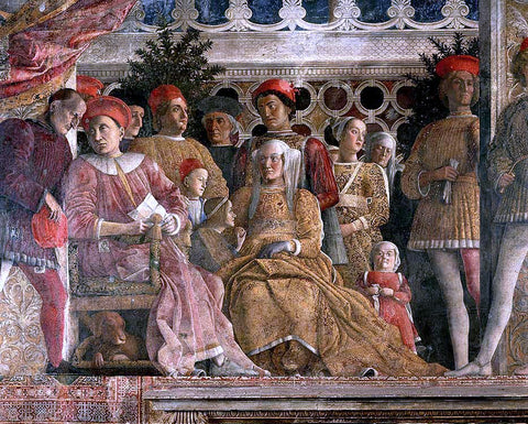 Andrea Mantegna The Court of Mantua (detail) - Hand Painted Oil Painting