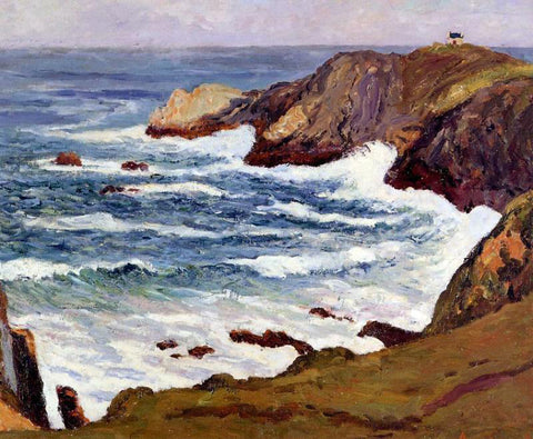 Maxime Maufra The Cove at Cape Suzon - Hand Painted Oil Painting
