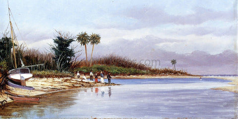 William Aiken Walker The Cove at Ponce Park - Hand Painted Oil Painting