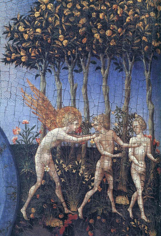 Giovanni Di Paolo The Creation and the Expulsion from the Paradise (detail) - Hand Painted Oil Painting