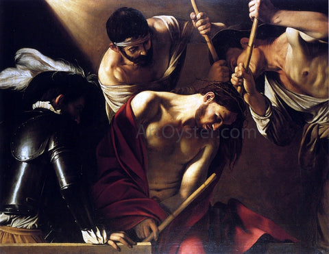 Caravaggio The Crowning with Thorns - Hand Painted Oil Painting