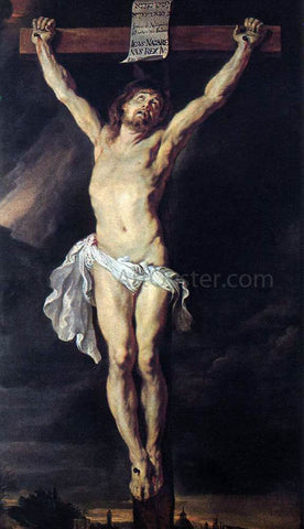 Peter Paul Rubens The Crucified Christ - Hand Painted Oil Painting