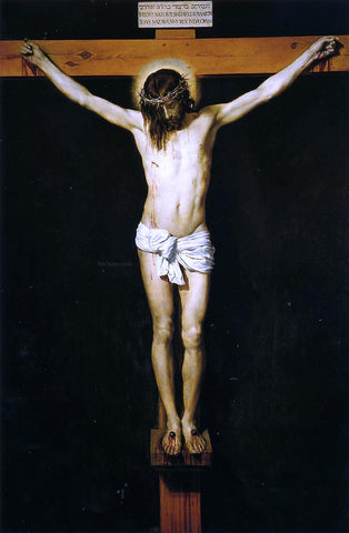 Diego Velazquez The Crucifixion - Hand Painted Oil Painting
