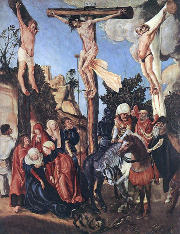 The Elder Lucas Cranach The Crucifixion - Hand Painted Oil Painting