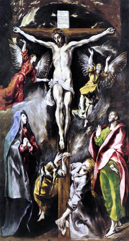 El Greco The Crucifixion - Hand Painted Oil Painting