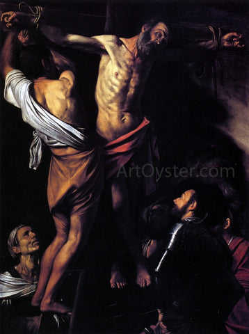 Caravaggio The Crucifixion of St. Andrew - Hand Painted Oil Painting