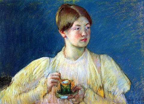 Mary Cassatt The Cup of Tea - Hand Painted Oil Painting