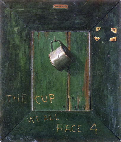 John Frederick Peto The Cup We All Race 4 - Hand Painted Oil Painting