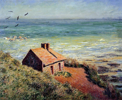 Claude Oscar Monet The Custom House, Morning Effect - Hand Painted Oil Painting