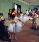 Edgar Degas A Dance Class - Hand Painted Oil Painting