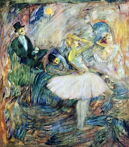 Henri De Toulouse-Lautrec The Dancer in Her Dressing Room - Hand Painted Oil Painting