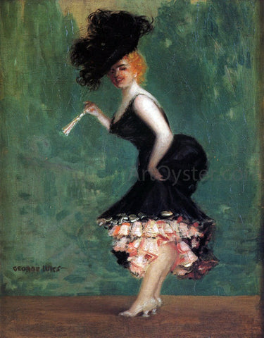 George Luks The Dancers - Hand Painted Oil Painting