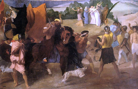 Edgar Degas The Daughter of Jephtha - Hand Painted Oil Painting