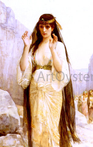Alexandre Cabanel The Daughter of Jephthah - Hand Painted Oil Painting
