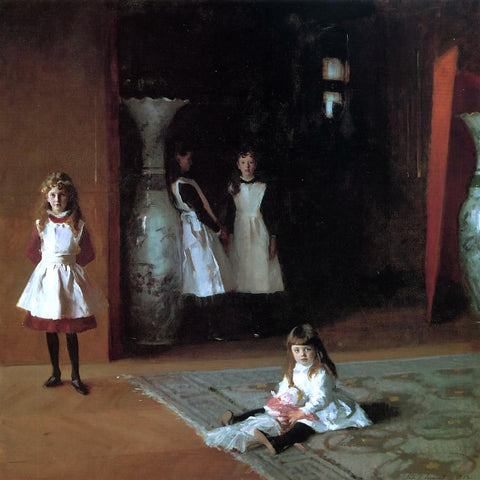 John Singer Sargent The Daughters of Edward Darley Boit - Hand Painted Oil Painting