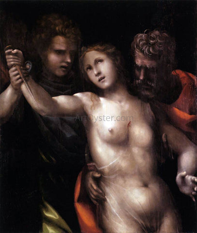 Il Sodoma The Death of Lucretia - Hand Painted Oil Painting