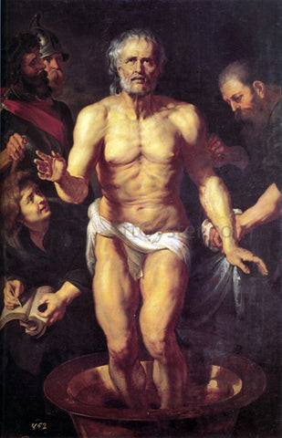 Peter Paul Rubens The Death of Seneca - Hand Painted Oil Painting
