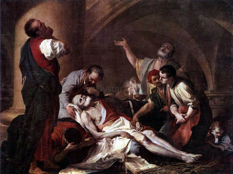 Giambettino Cignaroli The Death of Socrates - Hand Painted Oil Painting