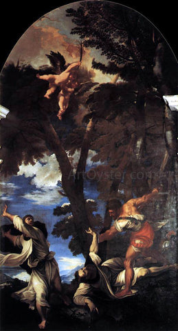 Titian The Death of St Peter Martyr - Hand Painted Oil Painting