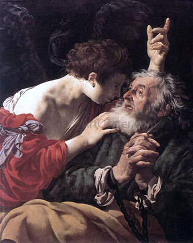 Hendrick Terbrugghen The Deliverance of St Peter - Hand Painted Oil Painting