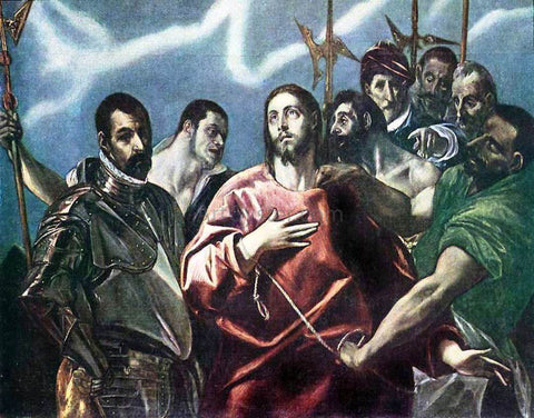 El Greco The Disrobing of Christ - Hand Painted Oil Painting