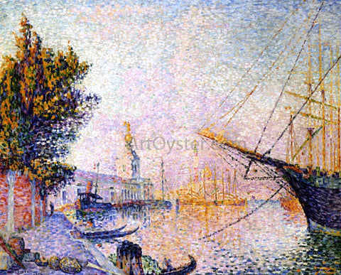 Paul Signac The Dogana - Hand Painted Oil Painting