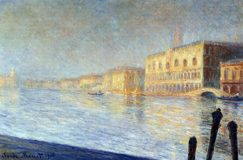 Claude Oscar Monet The Doges' Palace - Hand Painted Oil Painting