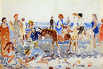 Maurice Prendergast The Donkey Driver - Hand Painted Oil Painting