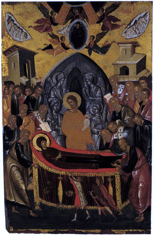 Andreas Ritzos The Dormition of the Virgin - Hand Painted Oil Painting