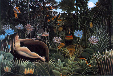 Henri Rousseau The Dream - Hand Painted Oil Painting
