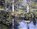 Theodore Robinson The Duck Pond - Hand Painted Oil Painting