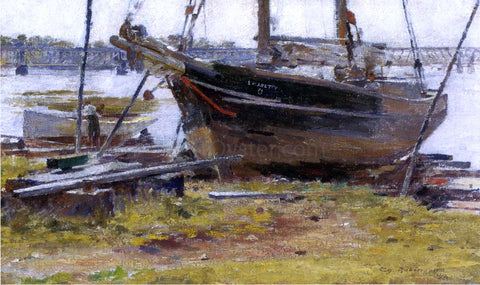 Theodore Robinson The E. M. J. Betty - Hand Painted Oil Painting