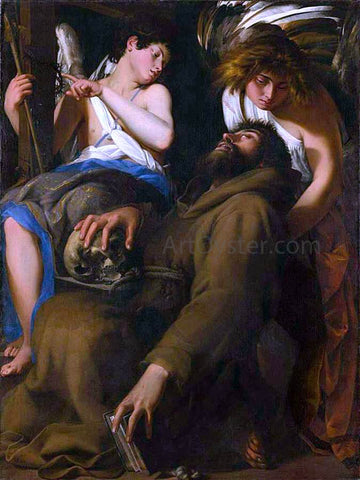 Giovanni Baglione The Ecstasy of St Francis - Hand Painted Oil Painting