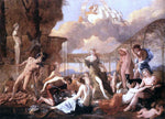 Nicolas Poussin The Empire of Flora - Hand Painted Oil Painting