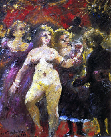 Lovis Corinth The Fair Imperia - Hand Painted Oil Painting