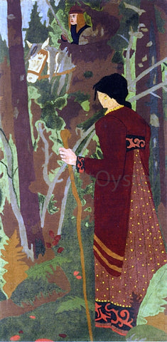 Paul Serusier The Fairy and the Knight - Hand Painted Oil Painting