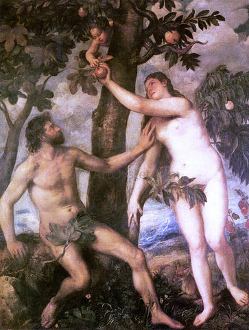 Titian The Fall of Man - Hand Painted Oil Painting